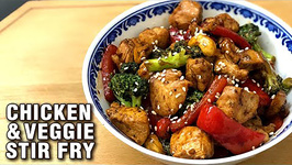 How to Make Chicken Vegetable Stir Fry Chicken Recipe By Tarika