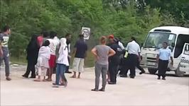 Policeman Seen Roughing Up Man During Violent Nauru Protests