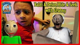 BALDI and GRANNY HIDE AND SEEK  DEIONS PLAYTIME