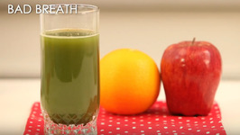 Cure Bad Breath With Wheat Grass