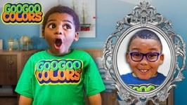 Goo Goo Gaga and Magic Mirror! (Kids Shop at Store and Play at Playground)