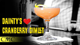 How To Make The Dainty's Cranberry Gimlet - Valentine's Day Cocktail