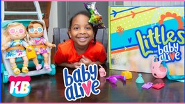 Littles by Baby Alive  Surprise Kyraboo Pretend Play