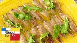Marinade de sardines fraîches au citronet au miel