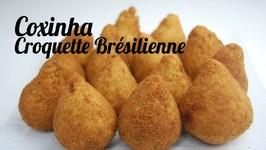 Coxinha Au Thon (Croquette Brésilienne Au Thon)
