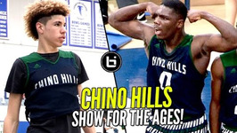 LaMelo Ball And Chino Hills Put On a Show For The Ages 2nd Round Win vs LB Poly Full Highlights