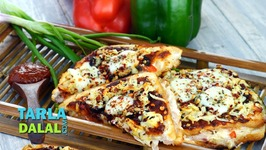Cheesy Sandwich Pizza-Hindi