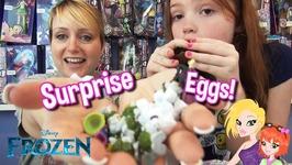 Disney Frozen Chocolate Surprise Eggs from Zaini - Like Kinder