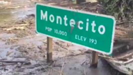 California's 101 Freeway Still Under Water After Deadly Mudflows