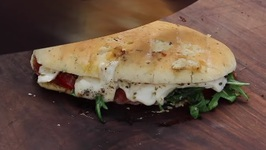 Grilled Panini Caprese