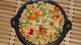 Pressure Cooked Veg Fried Rice / Quickest Instantly