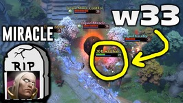 w33 Timbersaw VS Miracle Invoker - EPIC BATTLE Dota 2