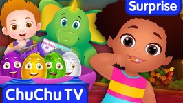Brush Your Teeth- Good Habits Surprise Eggs Nursery Rhymes Toys- ChuChu TV Egg Surprise