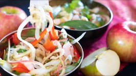 Asian Apple Noodle Salad - Easy Healthy Recipe
