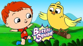 A Flying Start - Bottle Squad Cartoon - Kids Video - Superhero Stories For Children