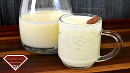 The Best Rich Homemade Egg Nog - Cooked Method - Holiday Series