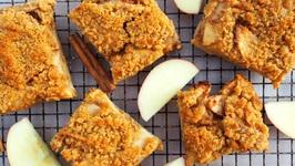 Dessert Recipes- Apple Crumble Bars