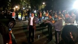 Mariachi Band Perform for Earthquake Emergency Workers in Mexico City