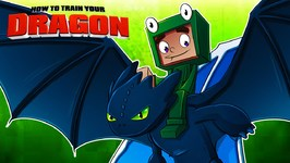 Minecraft - HOW TO TRAIN YOUR DRAGON - T-Shirt Speed Art!