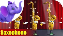 Saxophone - Musical Instrument Songs