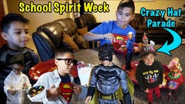 School Spirit Week with Crazy Hat Day Parade and More!!