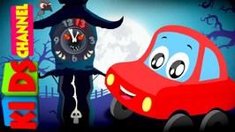 Little Red Car - The Clock Has Struck Thirteen - Halloween Songs For Children
