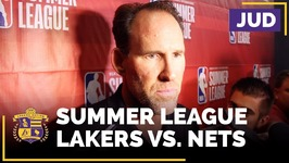Coach Jud After Lakers Beat Nets, Headed To Summer League Semifinals