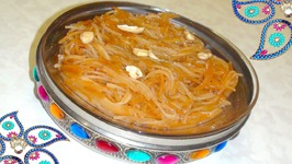 Mithi Sev (Sweet Vermicelli) For Holi Festival / Gujarati Surti Style