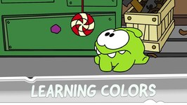 Learning Colors with Om Nom - Puppeteer
