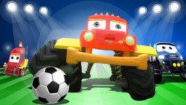 Monster Truck Dan In Goal - A Kung Fu Soccer Fantasy Football - Kids Channel