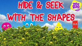 Hide And Seek With Mister Maker's Shapes