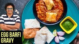 Egg Barfi Gravy Recipe  How To Make Egg Barfi Curry  Egg Curry Recipe By Varun Inamdar