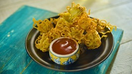 Maggi Pakoda - How To Make Masala Maggi Pakora - Pakora - Snack Recipes