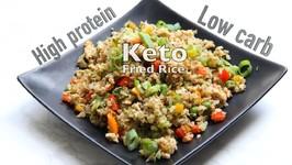 The Best Vegan Keto Cauliflower Fried Rice With Tofu