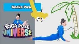 Snake Pose - Yoga Pose Universe