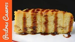Pudin de naranja al estilo inglés o pudin de pan con naranja