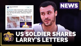 US Soldier Shares Larry Nance Jr.'s Letters From 14 Years Ago - With Photo Of The Letters
