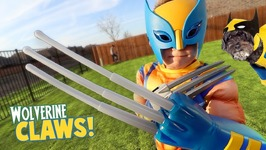Wolverine Claws Super Hero Gear Test And Toys Review For Kids