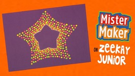 Spotty Dotty Star Make - Mister Maker's Arty Party