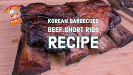 Kalbi - Korean Barbecued Beef Short Ribs - Slow N Sear