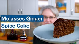 Molasses Spice Ginger Cake