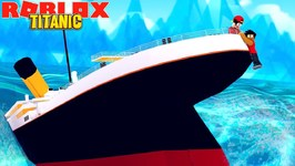 ROBLOX TITANIC - SURVIVING THE TITANIC CRASH IN ROBLOX!!