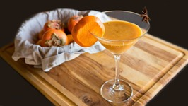 Spiced Persimmon Cocktail