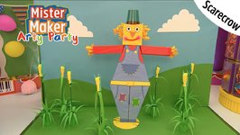 Scarecrow Arty Challenge - Arty Party - Mister Maker