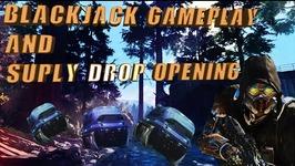 BLACK OPS 3: BLACKJACK GAMEPLAY, CASE OPENING, and FFAR GAMEPLAY
