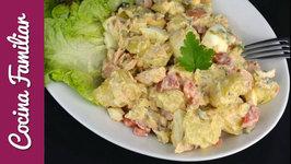 Como hacer ensalada de patatas con salsa tártara