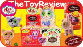 Kitties Blind Bags Full Case Collect Box Gummies Candy Fresh Toys Unboxing