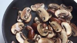 How to dry sauté mushrooms