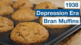 1938 Depression Era Bran Muffin Recipe