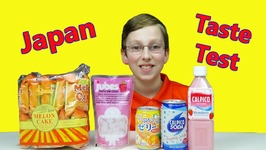 Japanese Snacks Soda Pop And Sweets Taste Test Review By American Kid